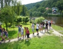cestou na krumlovský zámek