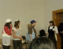 Vystoupení našich studentů - malí námořníci v akci